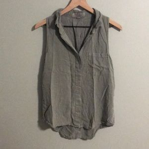 Thread & Supply Army Green button up top